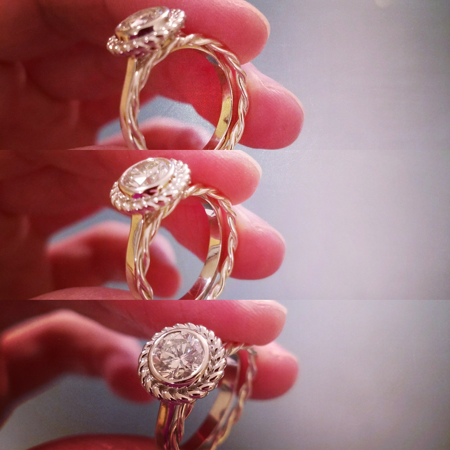 Suppose This Happened to Your Engagement Ring! | Handmade rings for ...